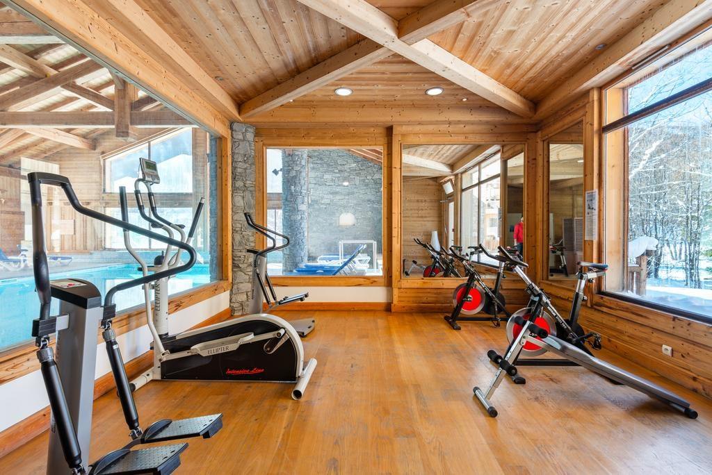 Hameau du Rocher Blanc Gym